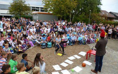 Einschulungsfeier für die Erstklässler am 13.09.2018