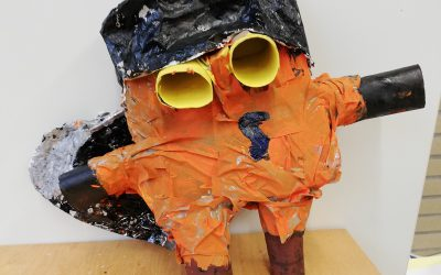 Upcycling: Wenn aus Müll Kunst entsteht