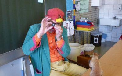 Besuch von Clown Kampino